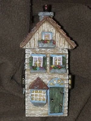 Boyds bears treasure box Julie's Dollhouse with A.P. McNibble NEW