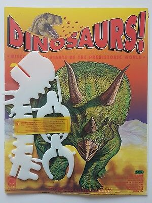 'DINOSAURS!' ORBIS DE AGOSTINI MAGAZINE ISSUE 2 NEW 90's & MODEL PARTS
