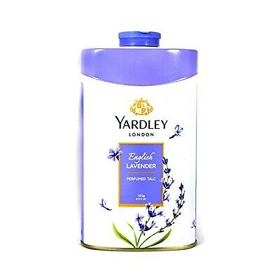 Yardley London English Lavender Perfumed Deodorizing Talc Talcum Powder 100gm