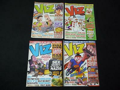 4 x Viz comic magazines - 110, 111, 112, 113 (LOT#2018)