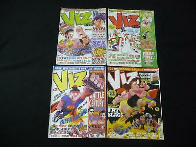 4 x Viz comic magazines - 110, 111, 113, 120 (LOT#2020)
