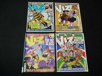 4 x Viz comic magazines - 183, 185, 195, 196 (LOT#2034)