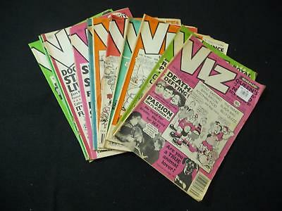 11 x Early Viz comic magazines - 35,36,37,38,40,44,45,46,48,51,54 (LOT#2049)