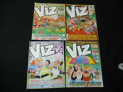 4 x Viz comic magazines - 228, 231, 232, 234 (LOT#2041)