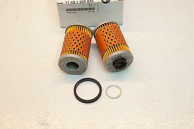 BMW OEM BMW R Series Split (Folding) Oil Filter with Rubber Seal 11421337575
