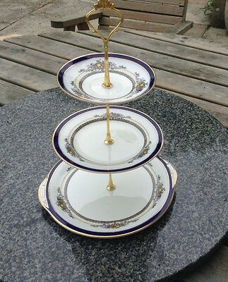 George Jones & sons Crescent The Alhambra Cake Stand