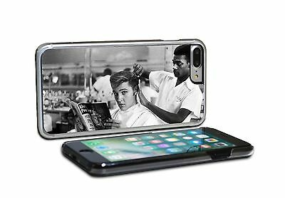 Elvis Presley Hair Cut BW Phone Case for iPhone & SAMSUNG