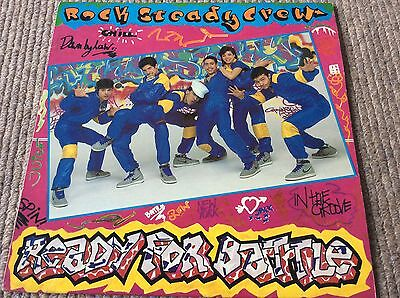 ROCK STEADY CREW-READY FOR BATTLE. ORIGINAL 1984 Vinyl/LP/Record