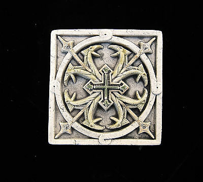 Dragon Heads   Celtic  Cross  Gothic  Ellison Tile