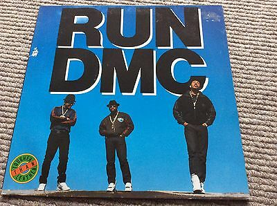RUN DMC- TOUGHER THAN LEATHER. ORIGINAL 1988 Press. LONLP38. Vinyl/record/LP