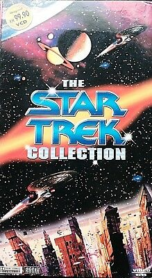The Star Trek Collection - Video-Cd - Boxset: 14 Vcd - Made In Malaysia