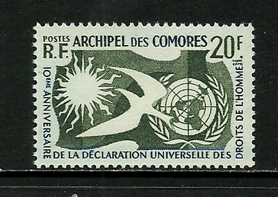 Comoro Is. #44 Mint Never Hinged Stamp - Human Rights