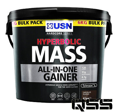 Usn Hyperbolic Mass 6Kg Designed To Achieve High Levels Of Muscle Mass & Stamina