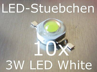 5x 3W High-Power LED Emitter Kaltweiss 700mA