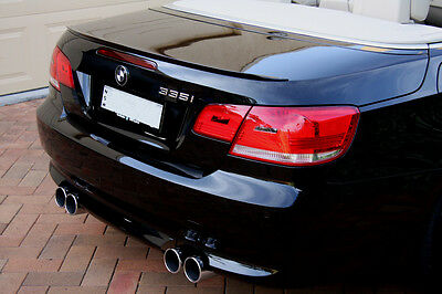 BMW E93 Painted Black Saphire 475 Convertible 2006 -13 Boot Lip Spoiler M3 Style