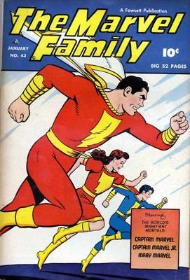 The Marvel Family Comics Collection 1 - 89 On Dvd **buy 3 Get 1 Free**