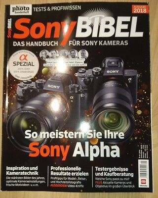 Digital Photo Sonderheft Sony Bibel 2018 Neuwertig & ungelesen