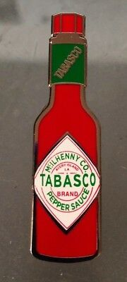 TABASCO Hot Sauce Bottle Enamel Collectible Pin Lapel Tie Tack BRAND NEW Sealed