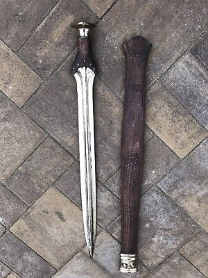 Bronze Age Sword Nordic Celtic With scabbard by Chris Levatino