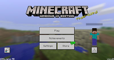 Minecraft * Windows 10 Edition * Full Game Code * Fast Email