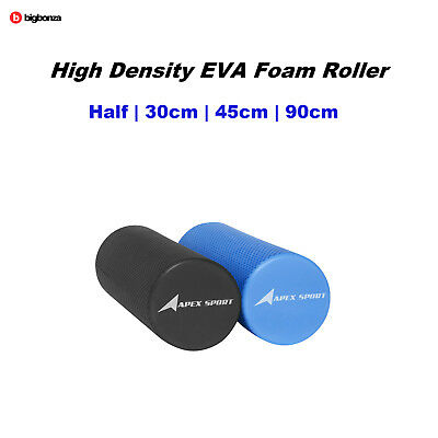 EVA Foam Roller Half 30cm 45cm 90cm Physio Gym Trigger Point Foam Rollers