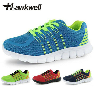 Hawkwell Casual Kids Sneakers Breathable Lace-up Running Shoes Boys Girls Sport