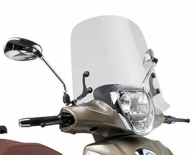 Windschild Scheibe GIVI Airstar klar Piaggio Beverly 125- 300 NEW Bj. 10-