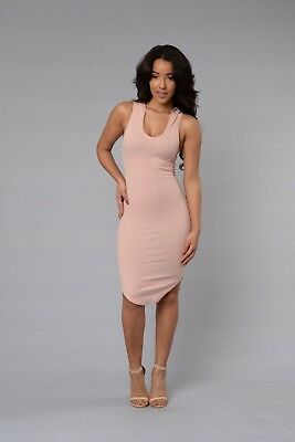 Fashion Nova One of the Girls Dress Pink Size Small