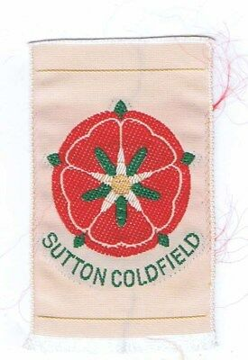 1960's Silk Wovens Sutton Coldfield Traded For At World Jamboree 600884