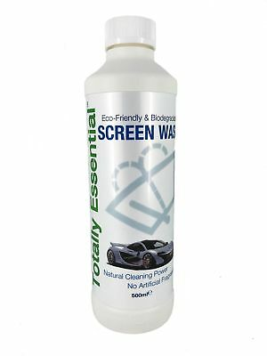 Eco-Friendly & Biodegradable Screen Wash