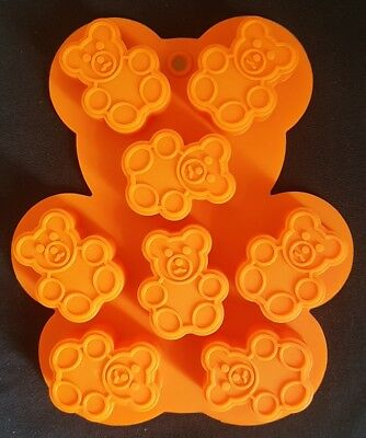 TEDDY BEAR MOULD Tiny Teddy Chocolate Fondant Sugarcraft Silicone Mold