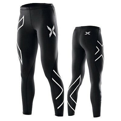 Womens long skins/compression tights, 2XU, size S M L XL, variety of colours