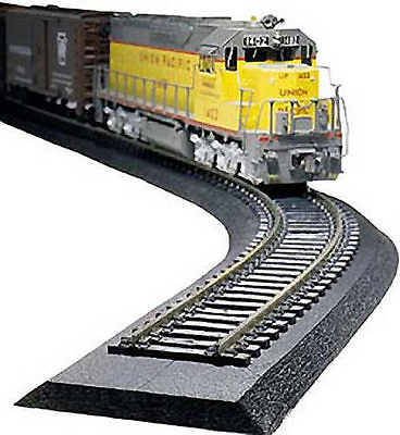 Model Train HO Roll of Track Bed 7.31mtr Roll - Woodland Scenics ST1474