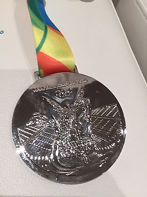 OLYMPIC GOLD MEDALS 2016 RIO DE JANEIRO OLYMPIC  SILVER MEDAL COLLECTION Replica