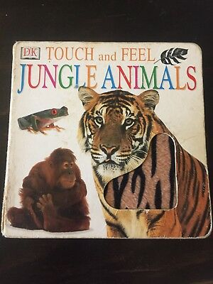Touch and Feel Jungle Animals Book