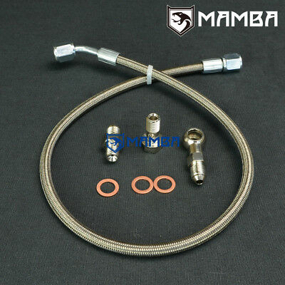 MAMBA TURBO OIL Feed Return Line Kit For Nissan ZD30ETi 3 0L