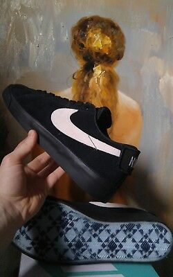 be3cfcfeaa5 Nike SB Blazer GT low Air Zoom size 11 11.5 12 Black suede Grant Taylor  Skate