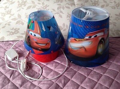 Disney Cars Lamp & Lampshade Boys Bedroom (Collection Only)