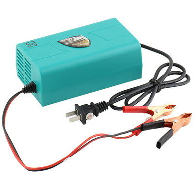 12V Battery Automatic Charger Motorcycle Car Boat Marine Maintainer Trickle Q#