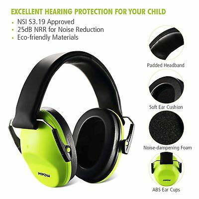 Mpow Noise Canceling Protect Ear Muff Boomstick Folding Safety Kids Gun Shooting