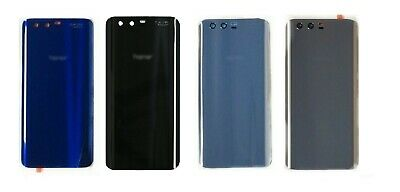 New Replacement Huawei HONOR 9 Rear Glass Back Battery Cover With Adhesive
