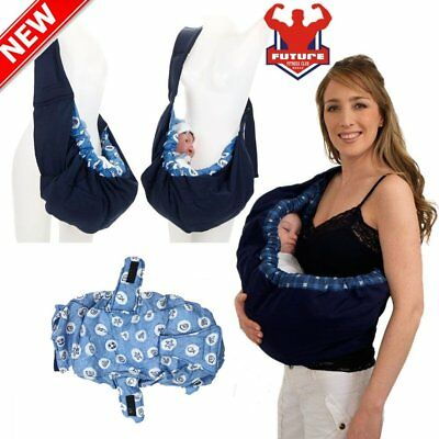 Comfort Newborn Baby Cradle Pouch Ring Sling Backpack Infant Carrier Wrap Bag F~