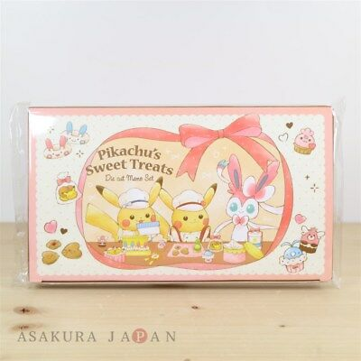 Pokemon Center Original Pikachu's Sweet Treats Memo Pad Set