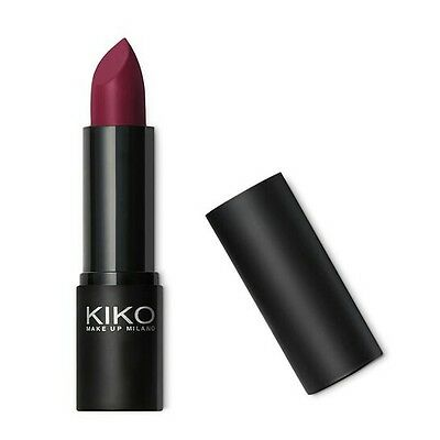 KIKO MAKE UP MILANO SMART LIPSTICK 914 AMARANTH (similar to REBEL * MAC) BNIB