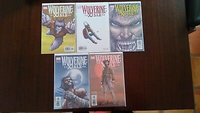Wolverine Xisle 1 thru 5 Complete Jones