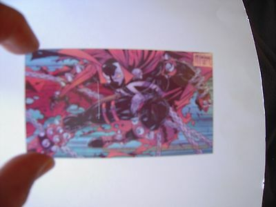 Spawn  Chromium   Trading Cards   Clearchrome    Cards  Tres Rare  1995 Tbe