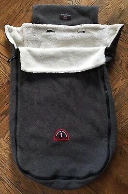 TOASTIE TODDLER Mobile Moms Gray Stroller Carriage Blanket Footmuff