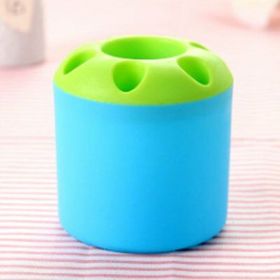 Innovative Toothbrush Cylinder Plastic Brush Holder Bathroom EN