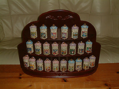 Disney Spice Jars-Lenox 1995 Collectible. Great Christmas / Birthday Gifts