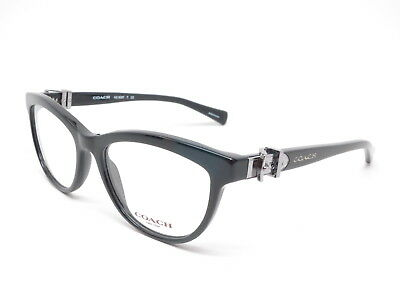 017e486aaf6 AUTHENTIC COACH HC 6087 5002 Black Eyeglasses 51mm ~ -  55.25